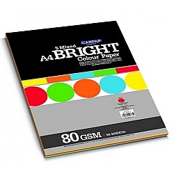 CAMPAP Bright Color Paper Pack - 5 Mixed Colors