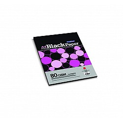 CAMPAP Extra Black Paper A 4 size