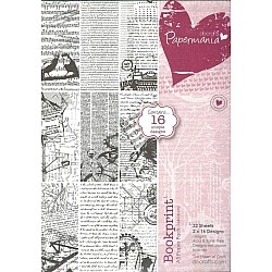 Papermania A5 Paper Pack - BookPrint