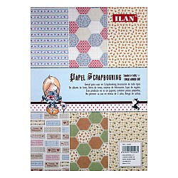 Ilan A4 Paper Pack - Quilt Pattern (Set of 12 sheets)