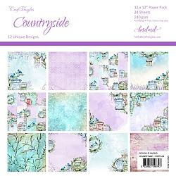 "CrafTangles Scrapbook Paper Pack - CountrySide (12""x12"")"