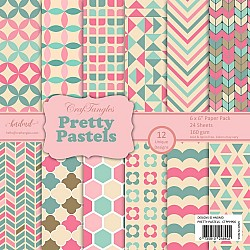 "CrafTangles Scrapbook Paper Pack - Pretty Pastels (6""x6"")"