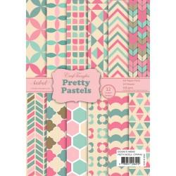 CrafTangles Scrapbook Paper Pack - Pretty Pastels (A4)