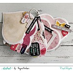 CrafTangles Scrapbook Paper Pack - Tender Feeling (A4)