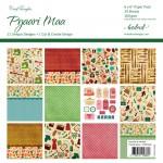CrafTangles Scrapbook Paper Pack - Pyaari Maa / Dear Mother(6x6)