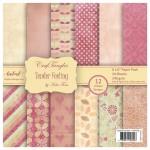 CrafTangles Scrapbook Paper Pack - Tender Feeling (6x6)