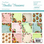 "CrafTangles Scrapbook Paper Pack - Timeless Treasures (6""x6"")"