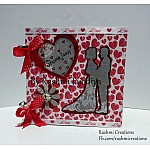 """CrafTangles Scrapbook Paper Pack - All For Love (6""""x6"""")"""
