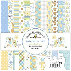 """Doodlebug Double-Sided Paper Pad 6""""X6"""" 24/Pkg Special Delivery"""