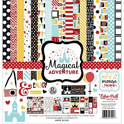 EchoPark paper pad - Magical Adventure (12 by 12 inch)