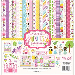 EchoPark paper pad - Perfect Princess (12 by 12 inch)
