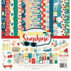 EchoPark paper pad - Good day Sunshine Collection Kit (12 by 12 inch)