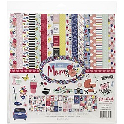 EchoPark paper pad - I am Mom Collection Kit (12 by 12 inch)