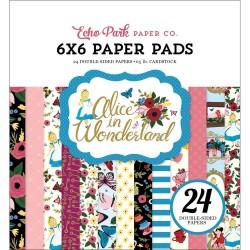 EchoPark paper pad - Alice in Wonderland (6by6 inch)
