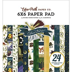 EchoPark paper pad - Adventure Awaits (6by6 inch)