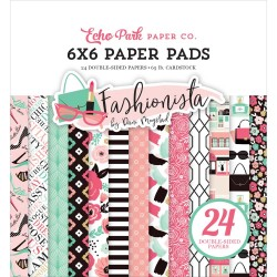 EchoPark paper pad - Fashionista (6by6 inch)