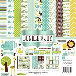 EchoPark paper pad - Bundle of Joy Boy Collection Kit (12 by 12 inch)