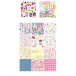 10x10 EnoGreeting Scrapbook paper pack - Everyday (PP014) (Set of 24 sheets and 2 die cut sheets)