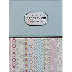 EnoGreeting - Wrapping Paper Book - Patterned Volume (A4 paper - set of 16 sheets)