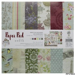 12x12 EnoGreeting Scrapbook paper pack - PP1902 (24 sheets)