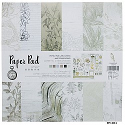 12x12 EnoGreeting Scrapbook paper pack - PP1904 (24 sheets)