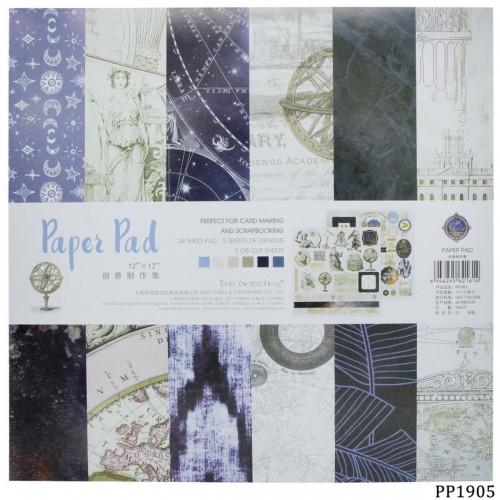 12x12 EnoGreeting Scrapbook paper pack - PP1905 (24 sheets)