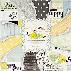 EnoGreeting Scrapbook paper pack - All about You (PS024) (Set of 24 sheets and 1 die cut sheets)