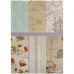 EnoGreeting - Wrapping Paper Book - Vintage Times (A3 paper - set of 24 sheets)