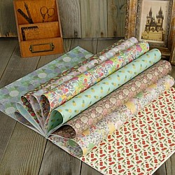 EnoGreeting - Decoration or Wrapping Paper Book (15 inch by 10 inch paper - set of 20 sheets)