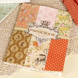 EnoGreeting - Vintage Wrapping Paper Book (A4 paper - set of 24 sheets)