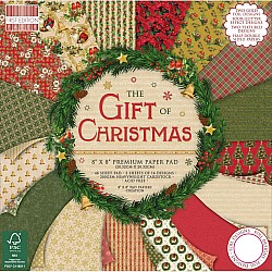 """First Edition Premium Paper Pad 8""""X8"""" - Gift of Christmas (48/Pkg)"""
