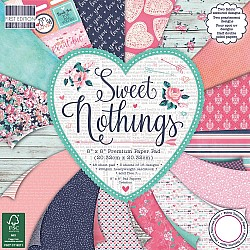 "First Edition Premium Paper Pad 8""X8"" - Sweet Nothings (48/Pkg)"