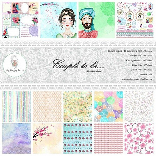 My HappyPacks - Couple to Be (12 by 12 patterned paper)