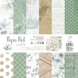 10x10 EnoGreeting Scrapbook paper pack - Vintage (PP016) (Set of 24 sheets and 2 die cut sheets)