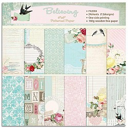 Believing (Pack of 24 sheets) - 6 by 6 inch