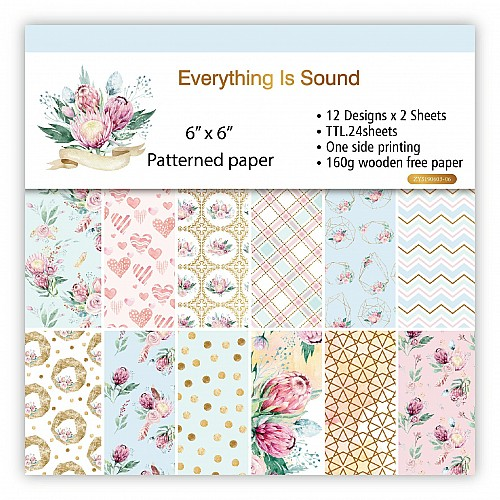 Everything is Sound (Pack of 24 sheets) - 6 by 6 inch