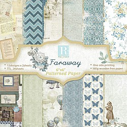 Faraway (Pack of 24 sheets) - 6 by 6 inch