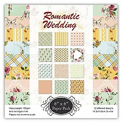 Romantic Wedding (Pack of 24 sheets) - 6 by 6 inch