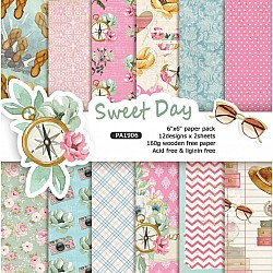 Sweet Day (Pack of 24 sheets) - 6 by 6 inch