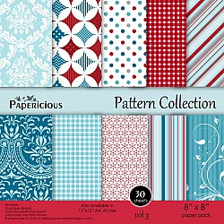 Papericious - Pattern Collection - Vol 3 (8 by 8 patterned paper)