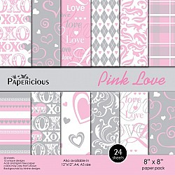 Papericious - Pink Love (8 by 8 paper)