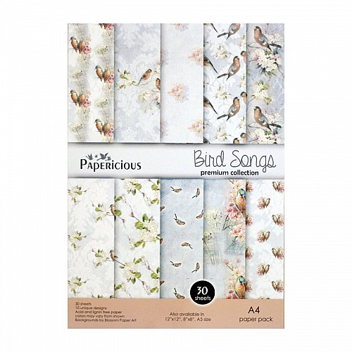 Papericious (Premium Collection) - Bird Songs (A4 paper)