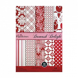 Papericious - Damask Delight (A4 paper)