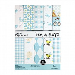 Papericious - Its a Boy (A4 paper)