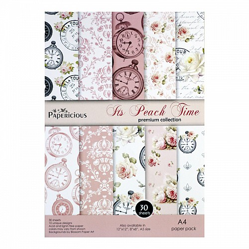 Papericious (Premium Collection) - Its Peach Time (A4 paper)