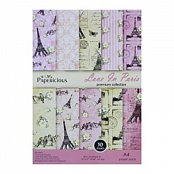 Papericious (Premium Collection) - Love in Paris (A4 paper)