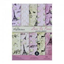 Papericious (Premium Collection) - Love in Paris (A4 paper)