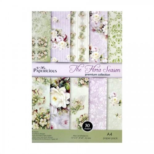 Papericious (Premium Collection) - The Flora Season (A4 paper)