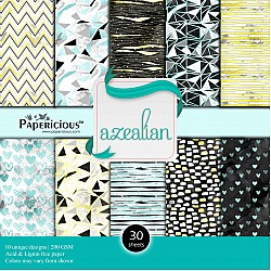 Papericious  Designer Collection - Azealian (12 by 12 patterned paper)