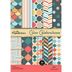 Papericious - Color Celebrations (A4 patterned paper)